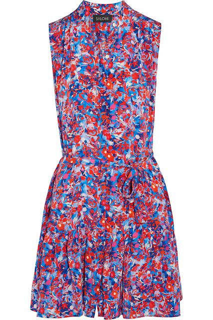 SALONI Tilly Printed Dress