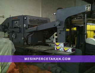 SUGANO   Automatic vertical Die Cutting Machine