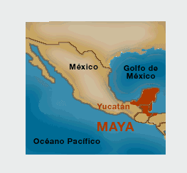 Mundo rossa cultura maya ubicaci n geogr fica de los mayas for Cultura maya ubicacion