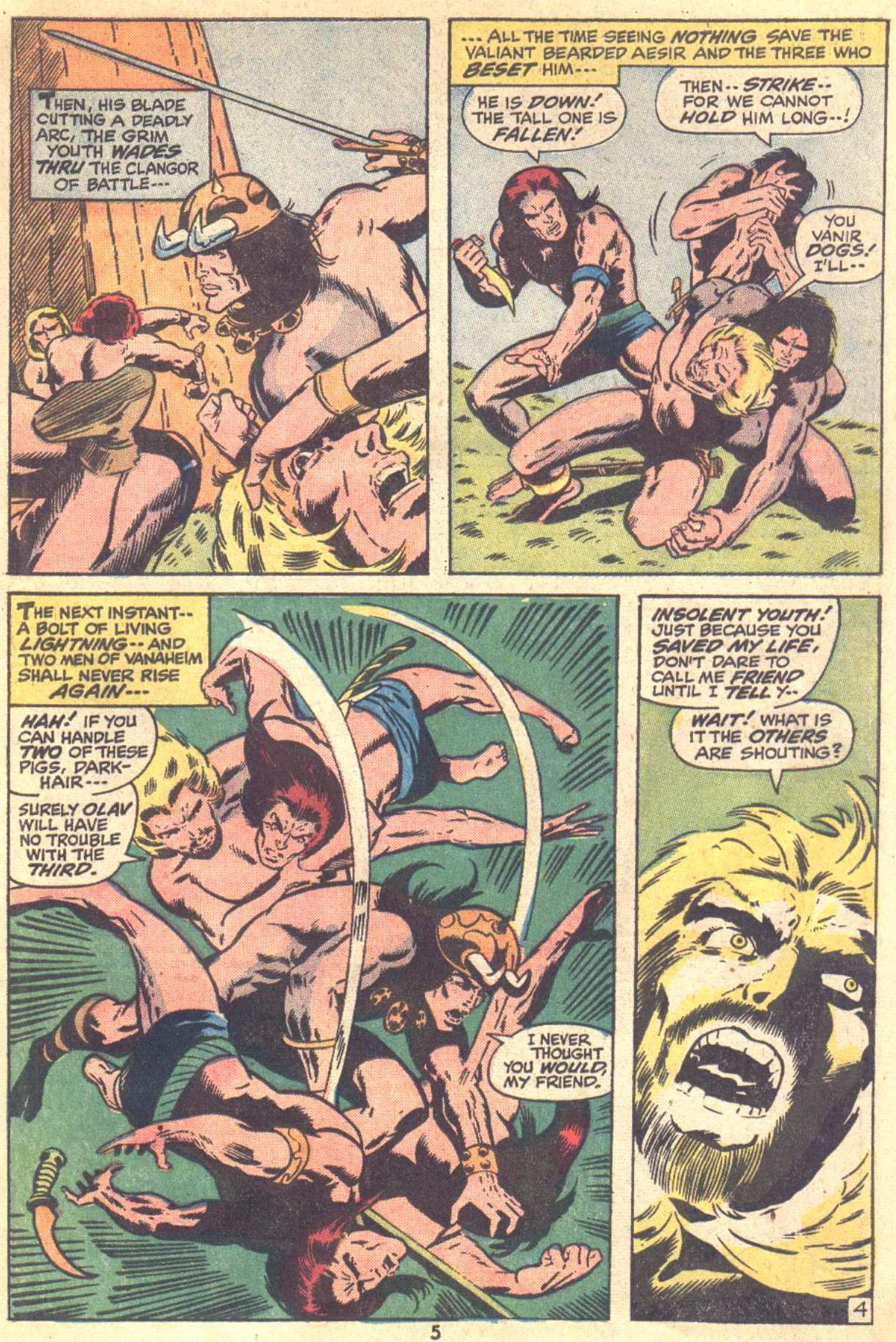 Conan the Barbarian (1970) Issue #22 #34 - English 5
