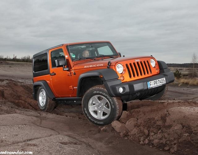 Jeep Wrangler 2013 mit neuer Ausstattung