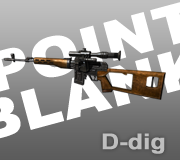 Senjata Dragunov Point Blank - PB
