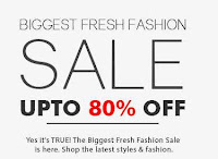 "YEPME:- Fresh Fashion sale ""upto 80% discount """