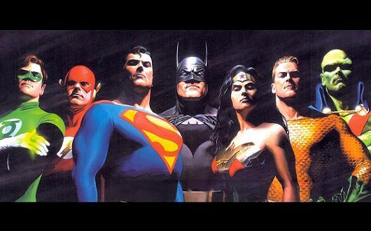 JLA: la Liga de la Justicia en cine JLA+Banner