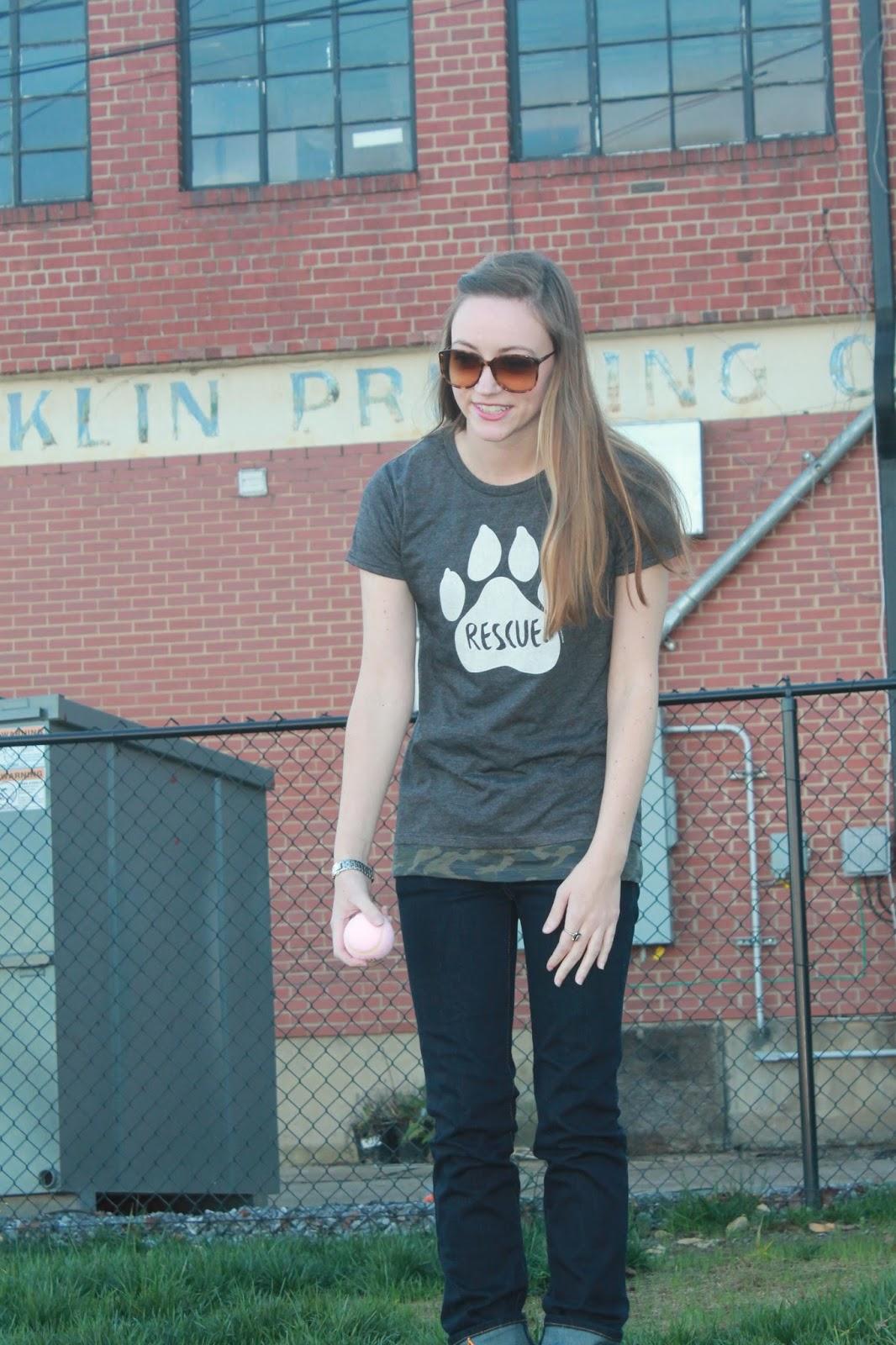 Fur & Collar Rescue T-shirt