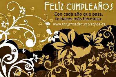 hermosa Feliz Cumpleaños