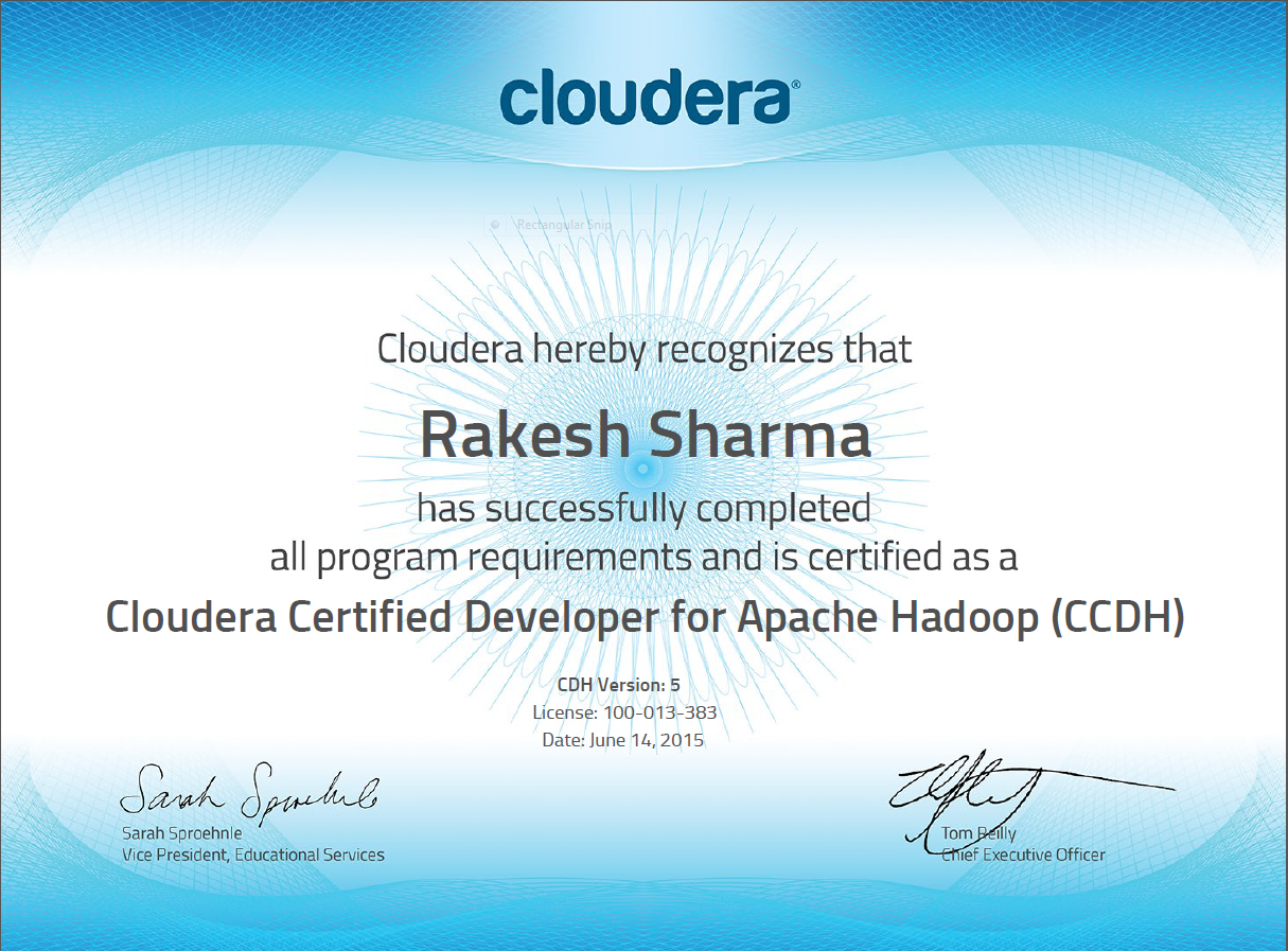 Why When And How Hadoop And Spark Tips To Clear Cloudera