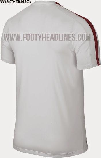 jual online dan berita bocoran jersey as roma training musim depan 2015/2016