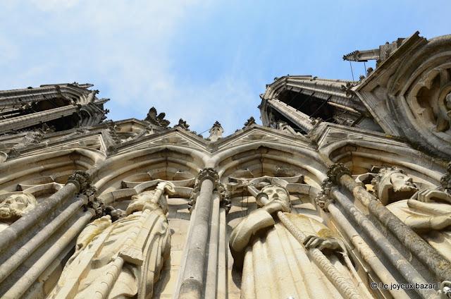 Reims - cathédrale - galerie des rois