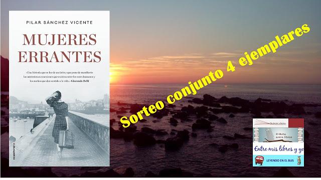 Sorteo conjunto de Mujeres errantes de Pilar Sánchez Vicente