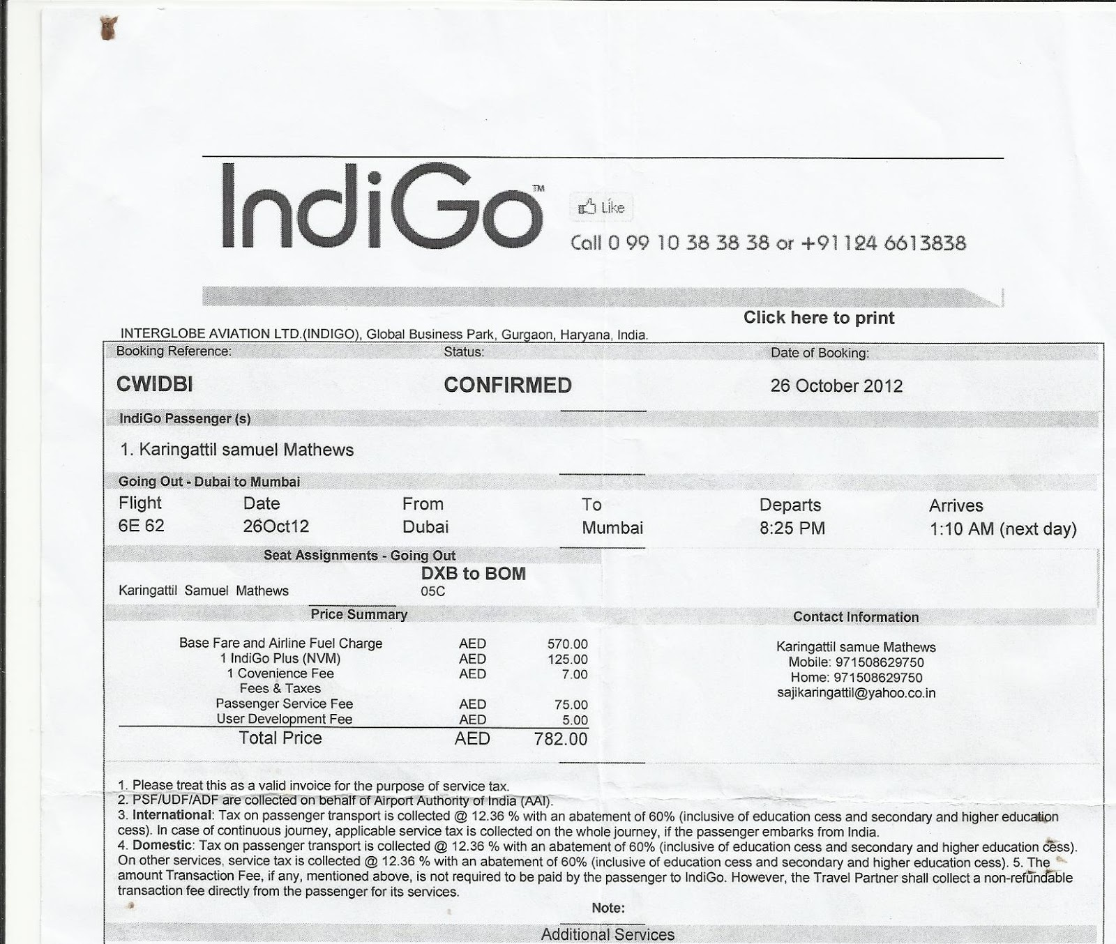 Indigo flight ticket booking coupons