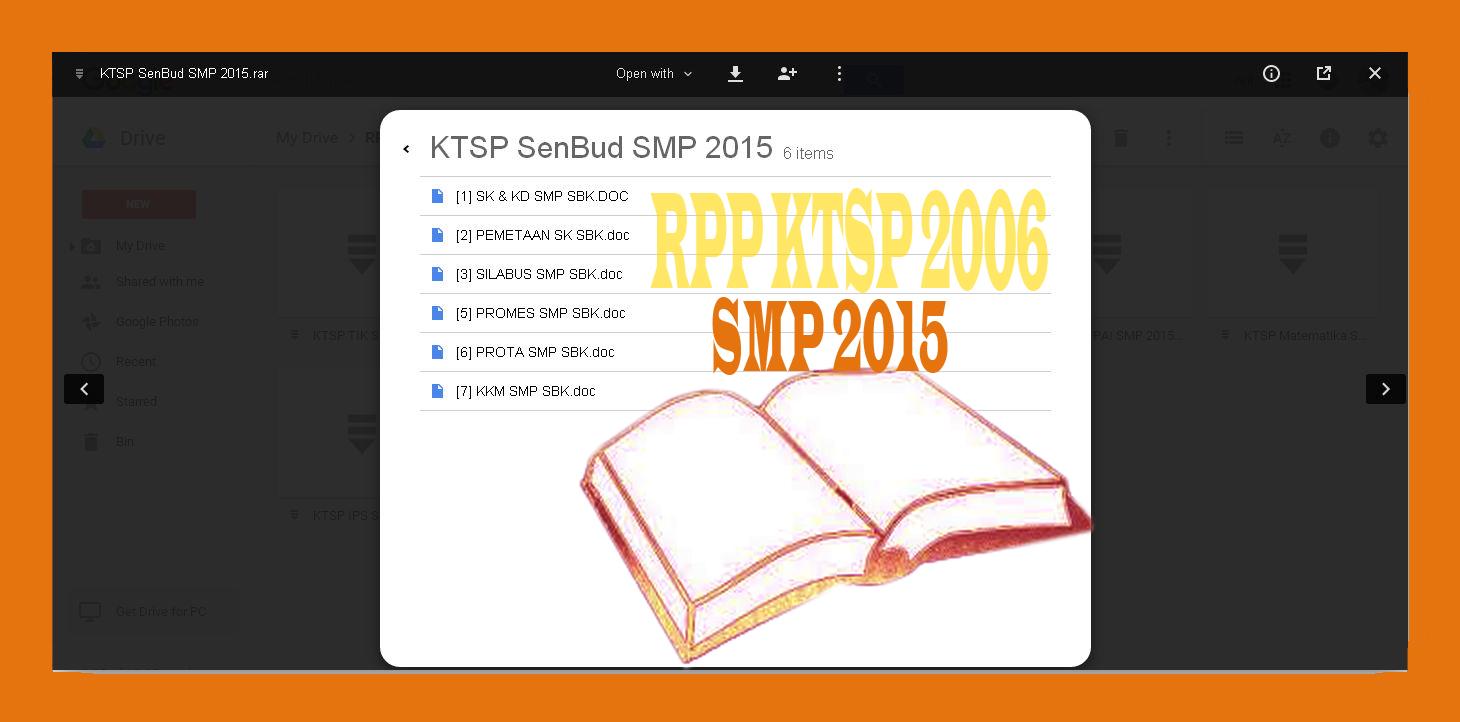 Download Rpp Ktsp 2006 Lengkap Dengan Silabus Prota Promes Kkm Ki Dan Kd Untuk Smp Tahun