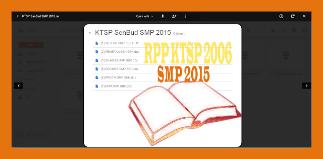 Download RPP KTSP 2006 SMP semester 1 dan 2 tahun Pelajaran 2015-2015