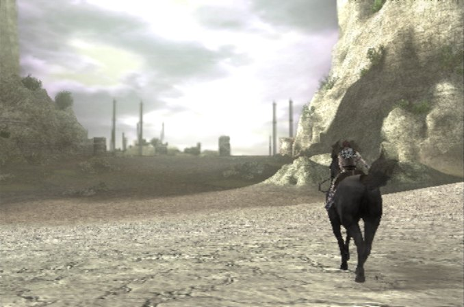 Shadow of the Colossus Shadow+of+the+colossus.+riding.+videojuegosyarte.blogspot.com+Alberto+Espinal