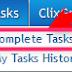 panduan menggunakan task pada clixsense