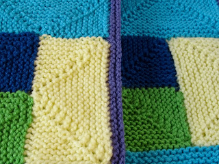 Rambling Rows Linus Project Blanket