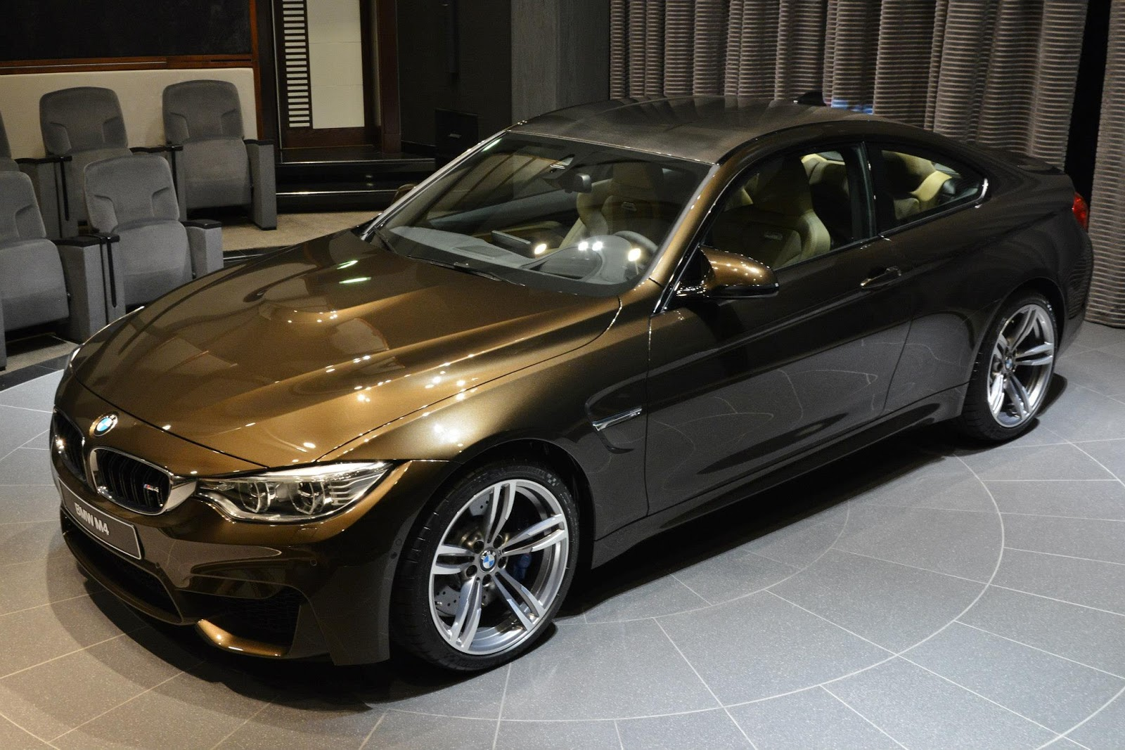 Bmw M4 Individual In Pyrite Brown Sweet As Chocolate Or