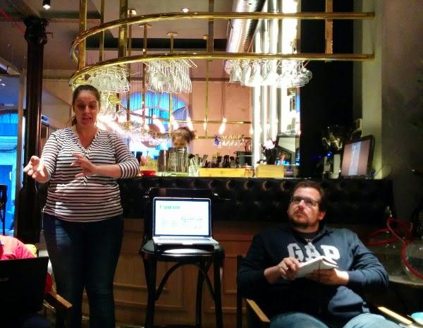 Marta y Jaime de Nativo Social en VIII Edición Sunrise Blog Club