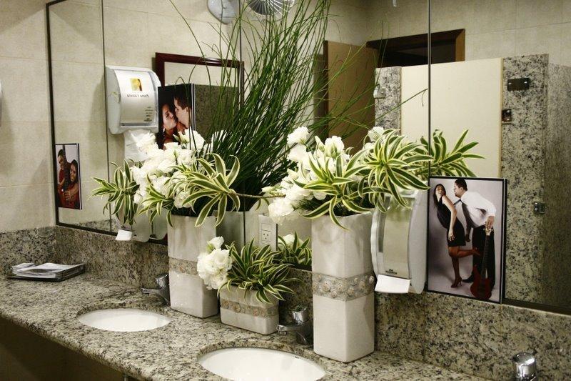 decoracao banheiro casamento – Doitricom -> Decoracao De Banheiro Para Festa De Casamento