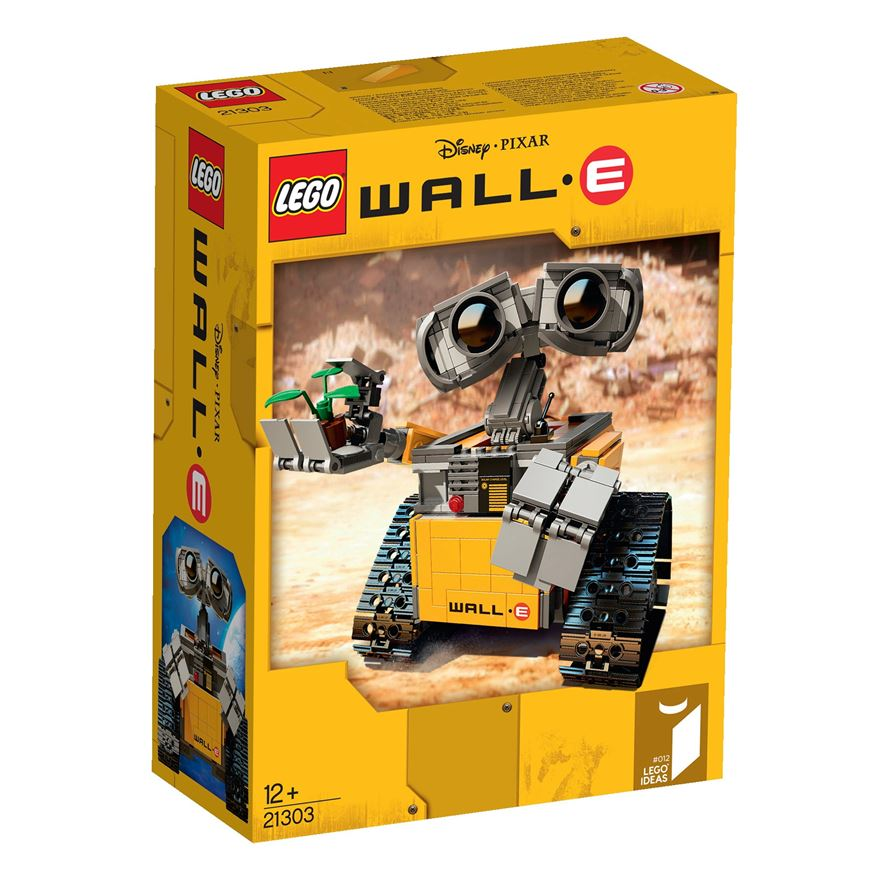 Pixar Corner: First Look: LEGO WALL-E Set Coming This December