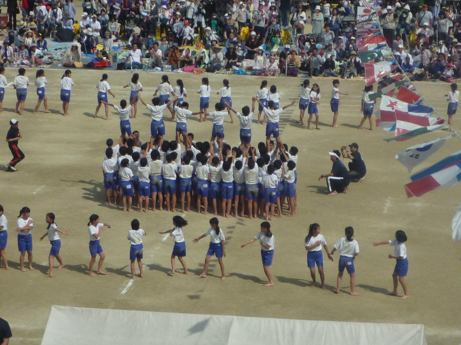 はやしま一貫教育ブログ: 6年生組体操 はやしま一貫教育ブログ 2014年5月26日月曜日 6年