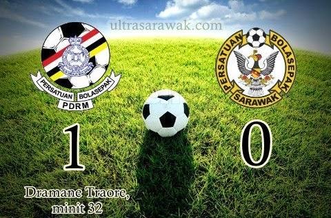 The Giant Killer PDRM kalahkan Sarawak FA 1 0