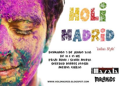 Holimadrid 2016- Fiesta de los colores