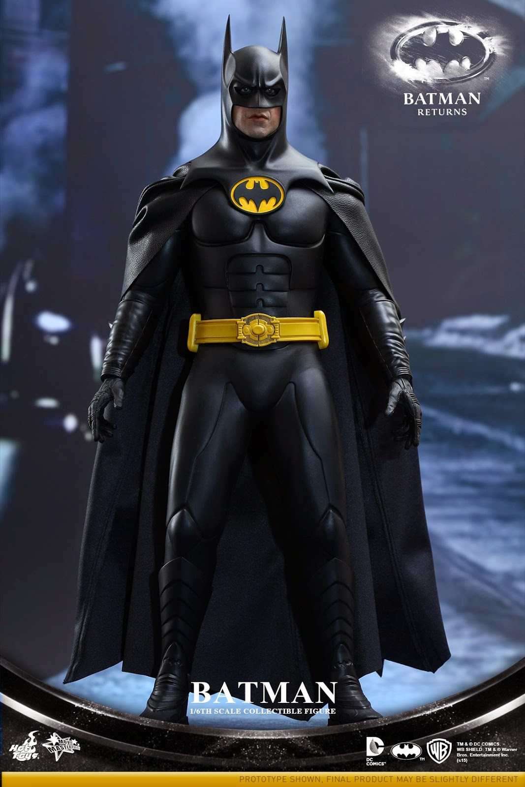 toyhaven hot toys batman returns 1 6th batman bruce