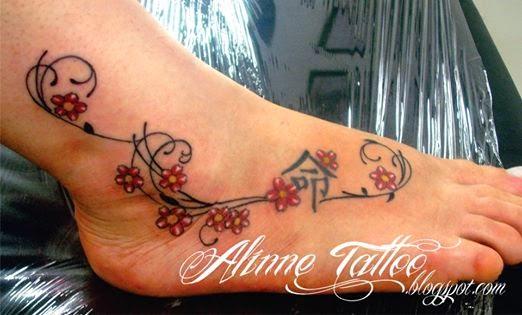 Ramos Cerejeira Tatuagem Feminina