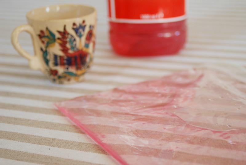 busta giaccio gel fai da te homemade