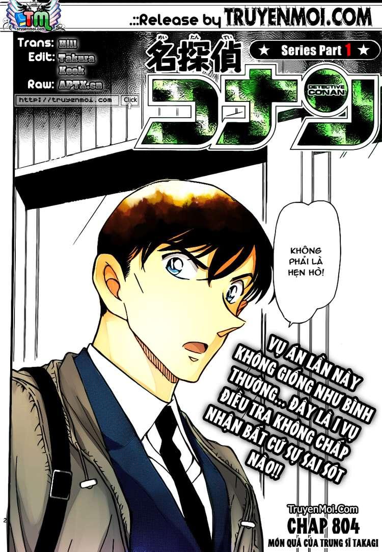 Detective Conan - Thám Tử Lừng Danh Conan chap 804 page 3 - IZTruyenTranh.com