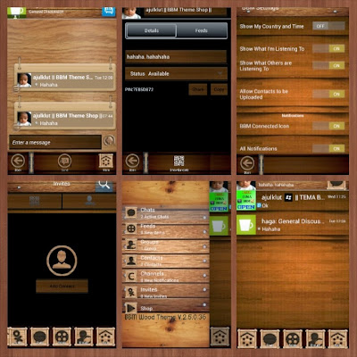 BBM Wood (BBM Tema Kayu) Update Musik
