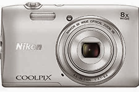 Nikon COOLPIX S 3600 20.1MP Digital Camera with 8X Optical Zoom - Factory Refurbished