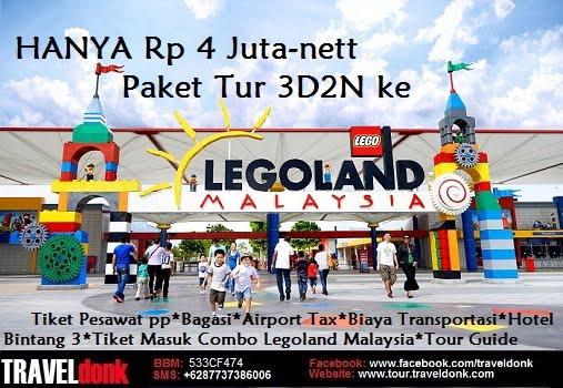 Paket Tur ke Legoland Malaysia