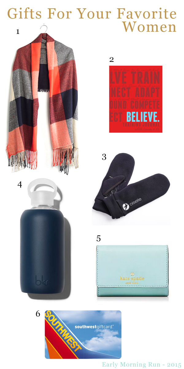 Early Morning Run - Gift Guide for Women 2015