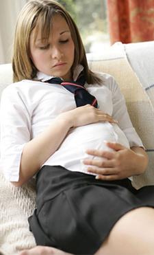 Grossesse chez les adolescentes et crime