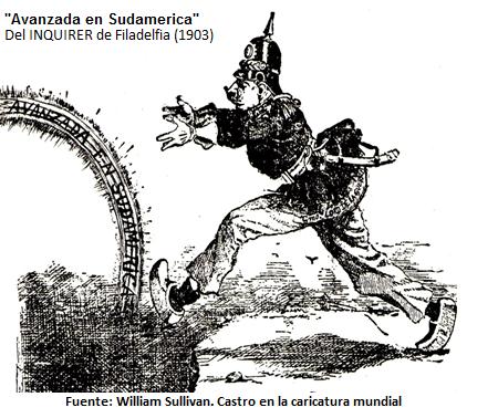 Situación bélica venezolana del S.XX Colonialismo