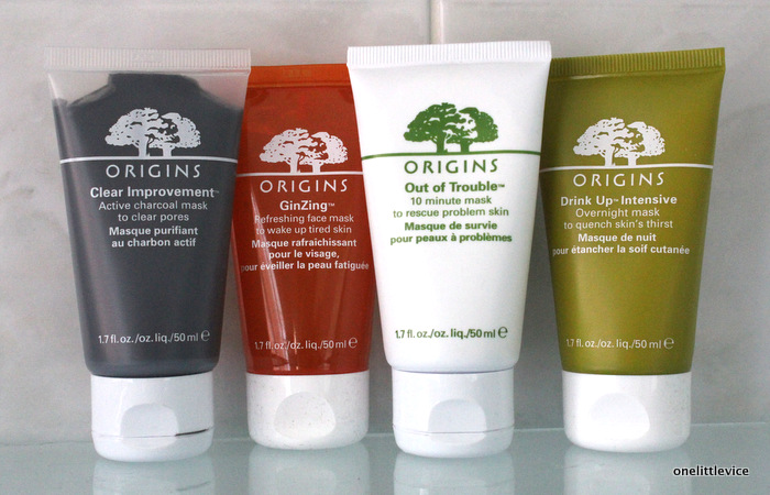 one little vice beauty blog: origins face mask reviews