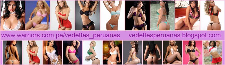 vedettes y modelos peruanas