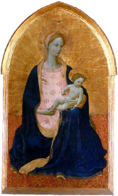 Fra Angelico, Vierge d'humilité dite Madone de Cedri, Museo Nazionale di San Matteo, Pise, © 2011. Photo Scala, Florence - courtesy of the Ministero Beni e Att. Culturali