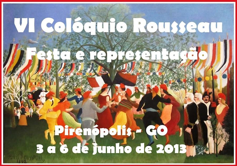VI Colóquio Rousseau