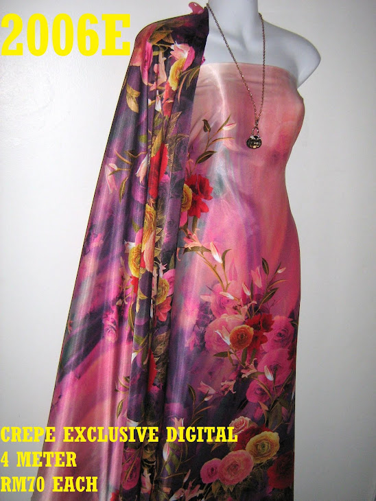 CP 2006E: CREPE EXCLUSIVE DIGITAL PRINTED, 4 METER