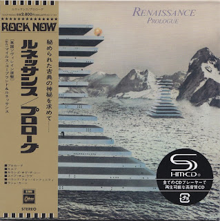 RENAISSANCE - PROLOGUE (SOVEREIGN/CAPITOL 1972) Jap mastering cardboard sleeve