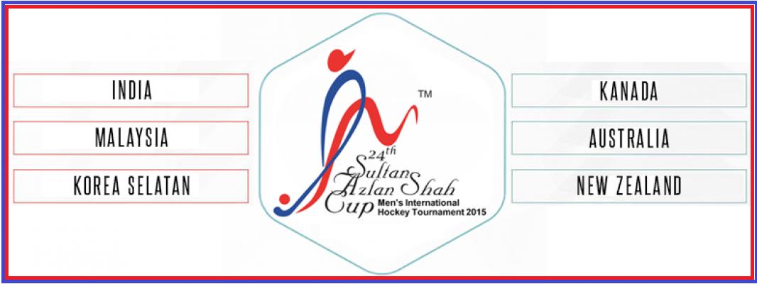 Keputusan Kejohanan Hoki Piala Sultan Azlan Shah 2015