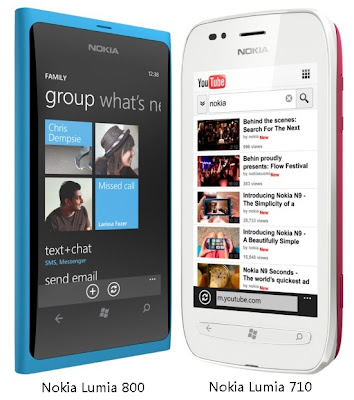 Nokia Lumia 800 Vs Lumia 710: Features Compared