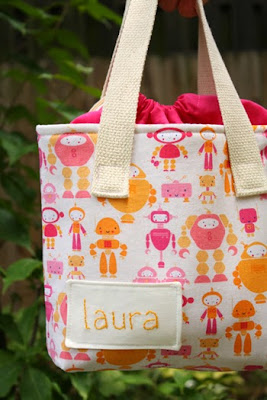 lunch sack sewing pattern