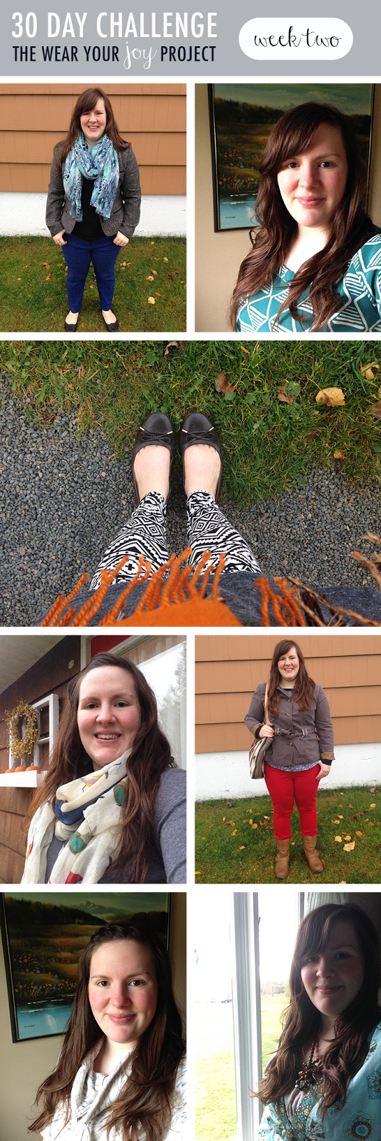 Wear Your Joy Project : Week 2 : Katie