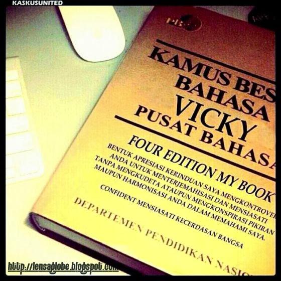 foto lucu vikcy - lensa globe.blogspot.com