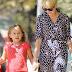 Michelle Williams recoge a Matilda tras el campamento de verano