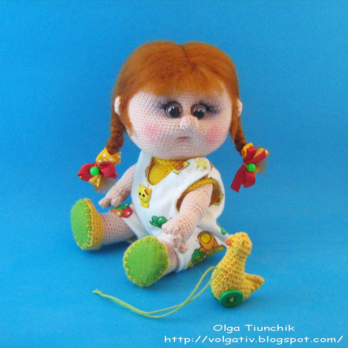 Мк вязание куклы елены ткачевой 78